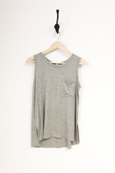 Bamboo Fabric Sleeveless Pocket Top