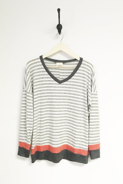 Rebecca Cozy Stripe Sweater