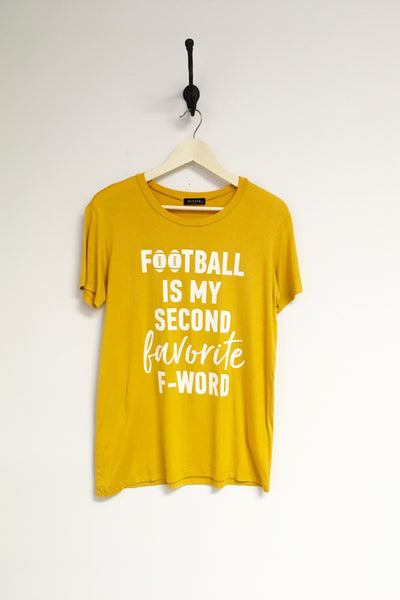 Football is My 2nd Favorite F-word Tee