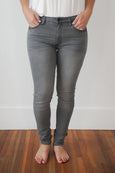 Anna Skinny Grey Denim