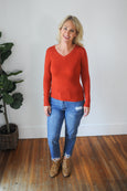 Nadia V-Neck Sweater