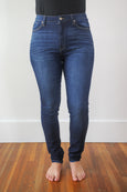 Valerie High Rise Dark Wash Skinny Jeans