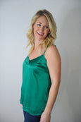 Holiday Silk Cami