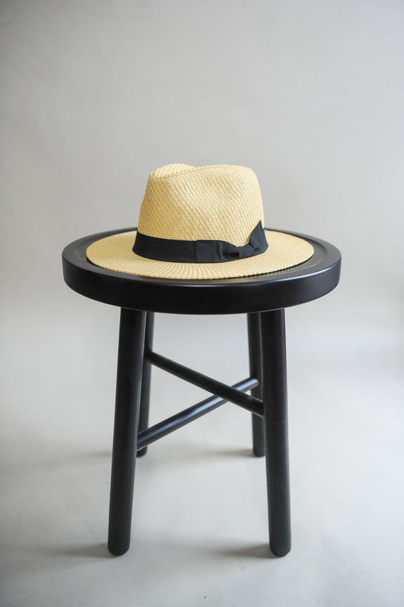 Fedora Natural Straw Hat