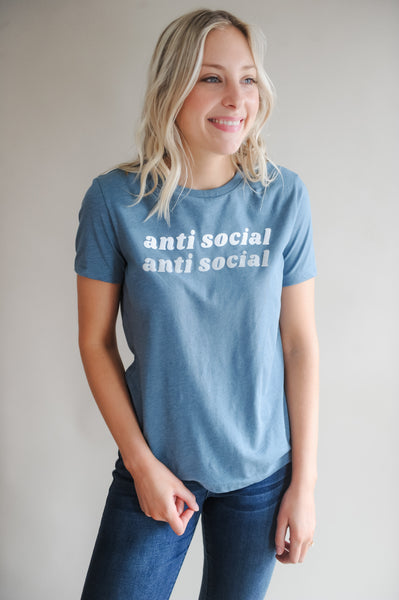 Anti Social Graphic Tee