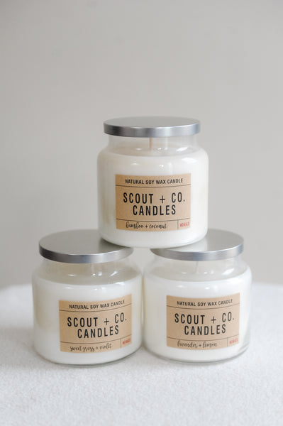 16 oz Scout + Co Apothecary Candle