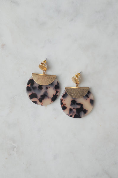 Gold Clasp Earring
