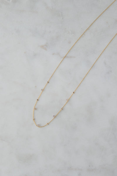 Stella Gold Satellite Necklace