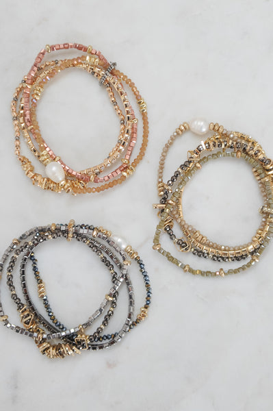 Mixed Stretch Bracelet Set