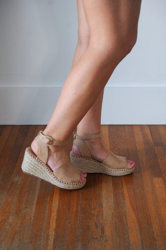 Berlin Espadrille Wedge