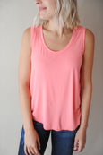 Gracie Scoop Neck Tank