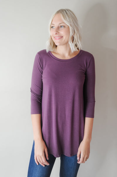 Brittney 3/4 sleeve Top