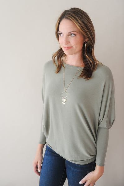 Meeka Dolman Sleeve Top