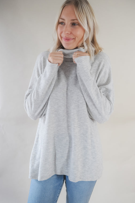 Willow Oversized Cowl Neck Sweater