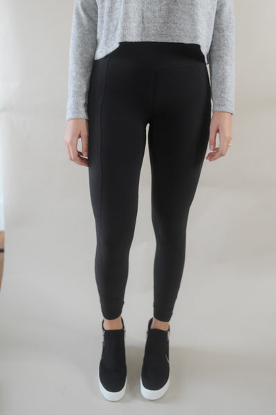 Drill Wide Band Full Length Legging