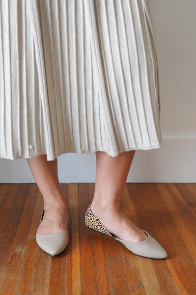 Rosa Two-Toned Flats