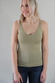 Neena Scallop Edge Sweater Tank