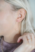 Large Sparkle Hoops