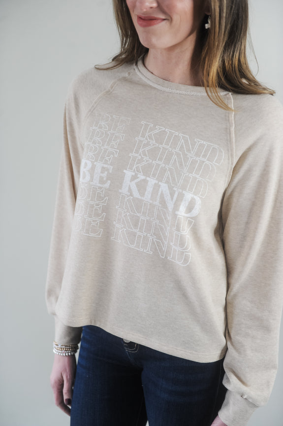 Be Kind Graphic Crewneck