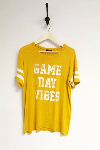 Game Day Vibes Football Graphic Top