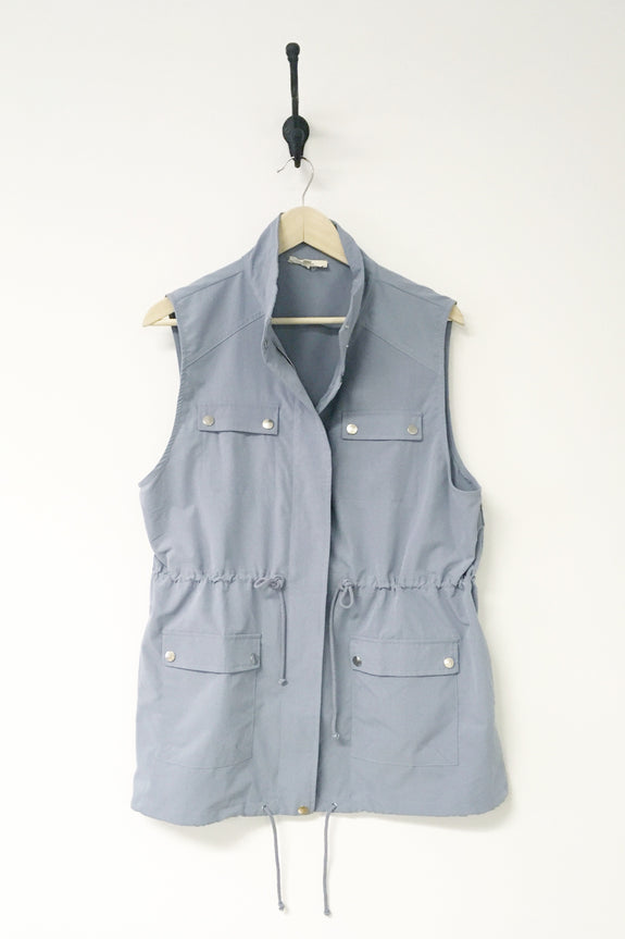 Jamie Canvas Cargo Vest - Plus