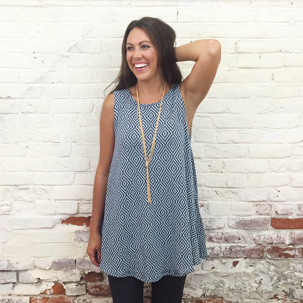 Enchanted Navy Tunic