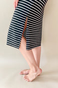 Birdie Stripe Midi Dress