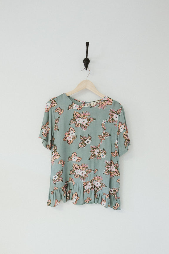 Shelby Floral Top