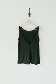 RIBBED JERSEY LOW BACK TANK