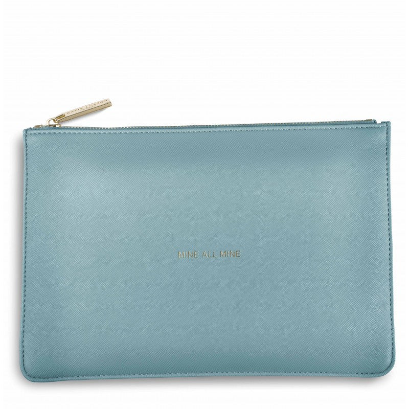 Mine All Mine Teal Pouch