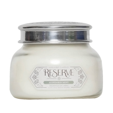 19 oz Mandarin Mint Reserve Jar Candle