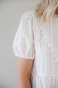 Mary Eyelet Babydoll Blouse