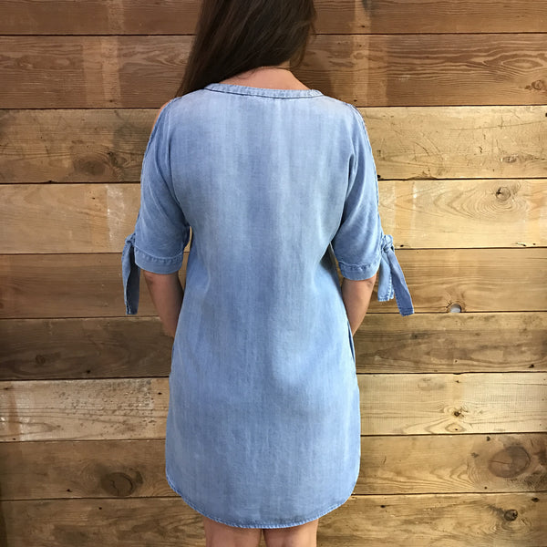 Hadley Open Shoulder Dress