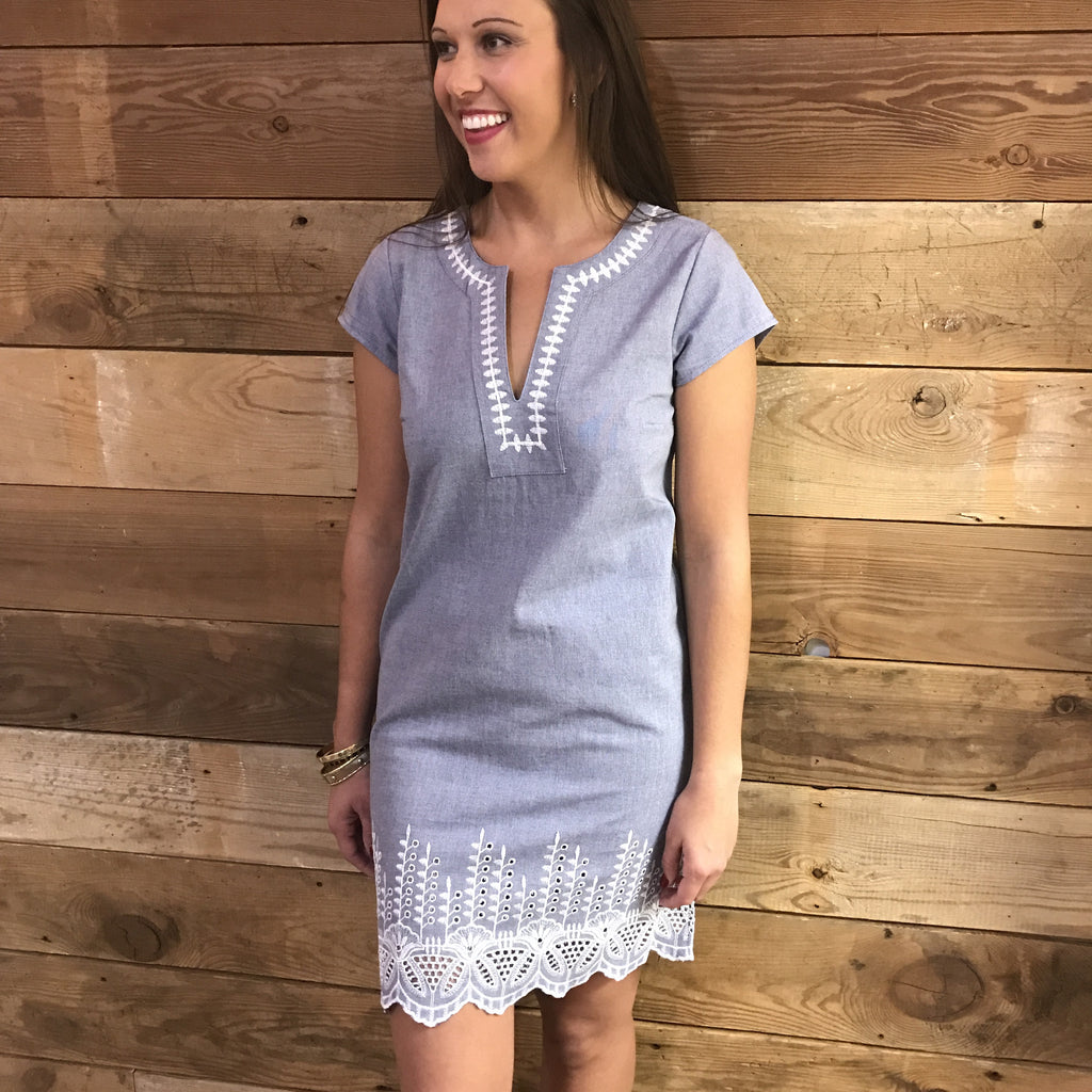 Isle Chambray Dress