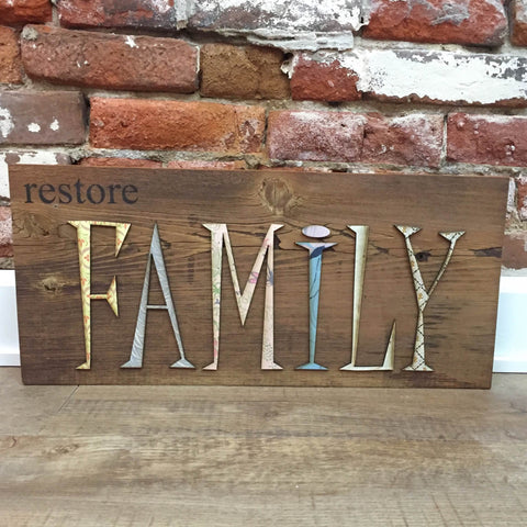 Restore Family Wall Art