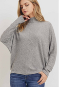 Ashton Turtle Neck Dolman Sleeve Top