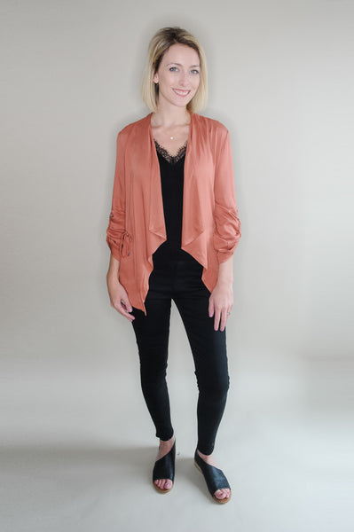 Slouchy Cinched Jacket