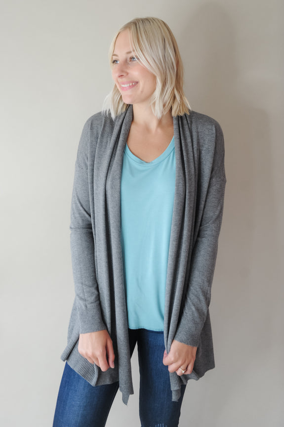 Ann Soft Waterfall Cardigan