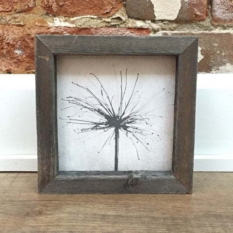 Nature's Sparkler Framed Shelf Art