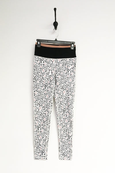 Highwaist Leopard Colorblock Leggings