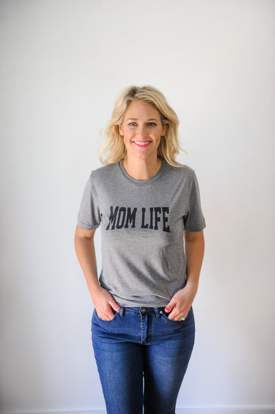 Mom Life Short Sleeve Tee