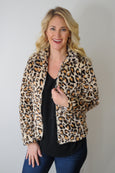 Shako Faux Fur Full Zip Jacket