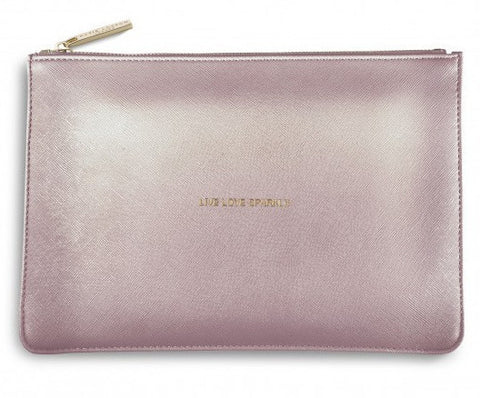 The Perfect Pouch - Metallic Lavender