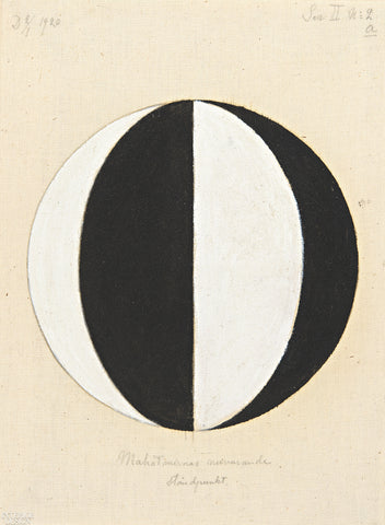 Hilma af Klint Painting entitled No 2a The Current Standpoint of the Mahatmas, 1920, Oil on Canvas
