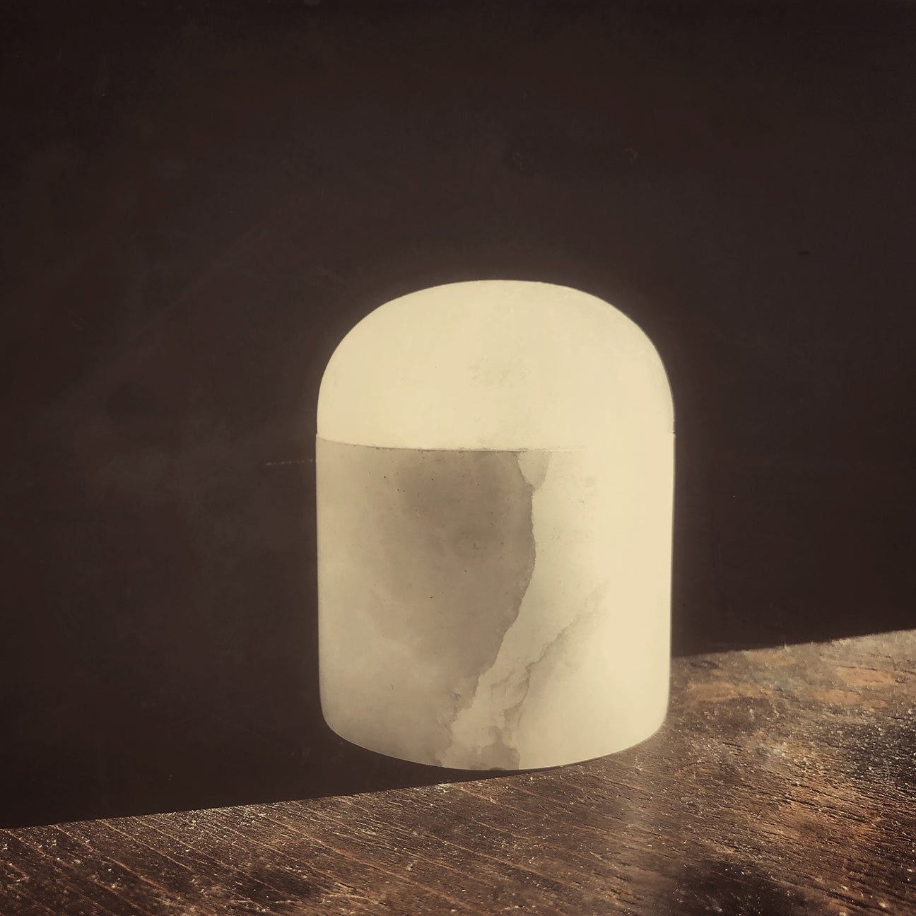 M+A NYC Alabaster Bubble Box