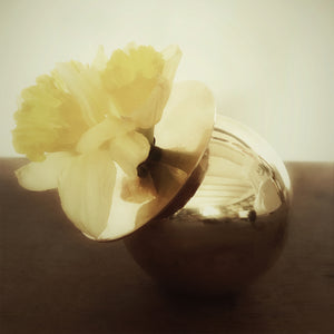 Photo of M+A NYC Angel Brass Bud Vase