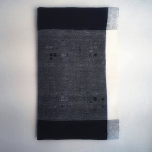 M+A NYC Color Block Napkin Black with Kora
