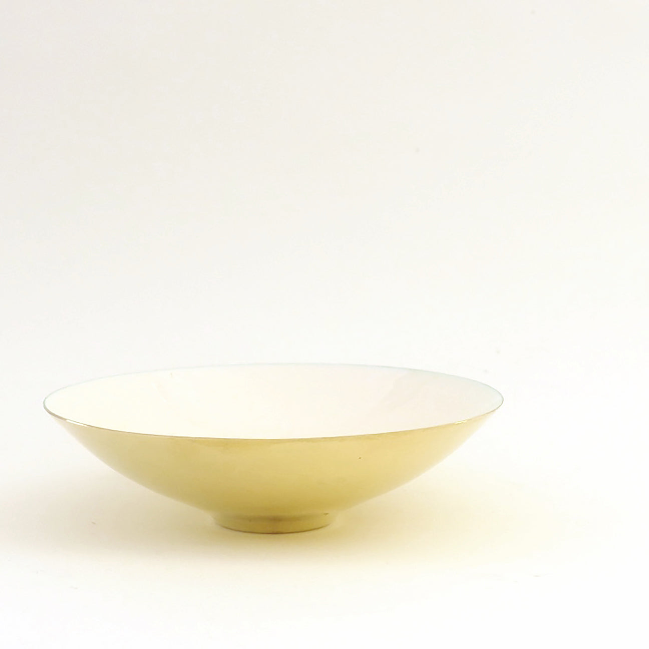 M+A NYC Enamel and Brass Plated Bowl - Kora