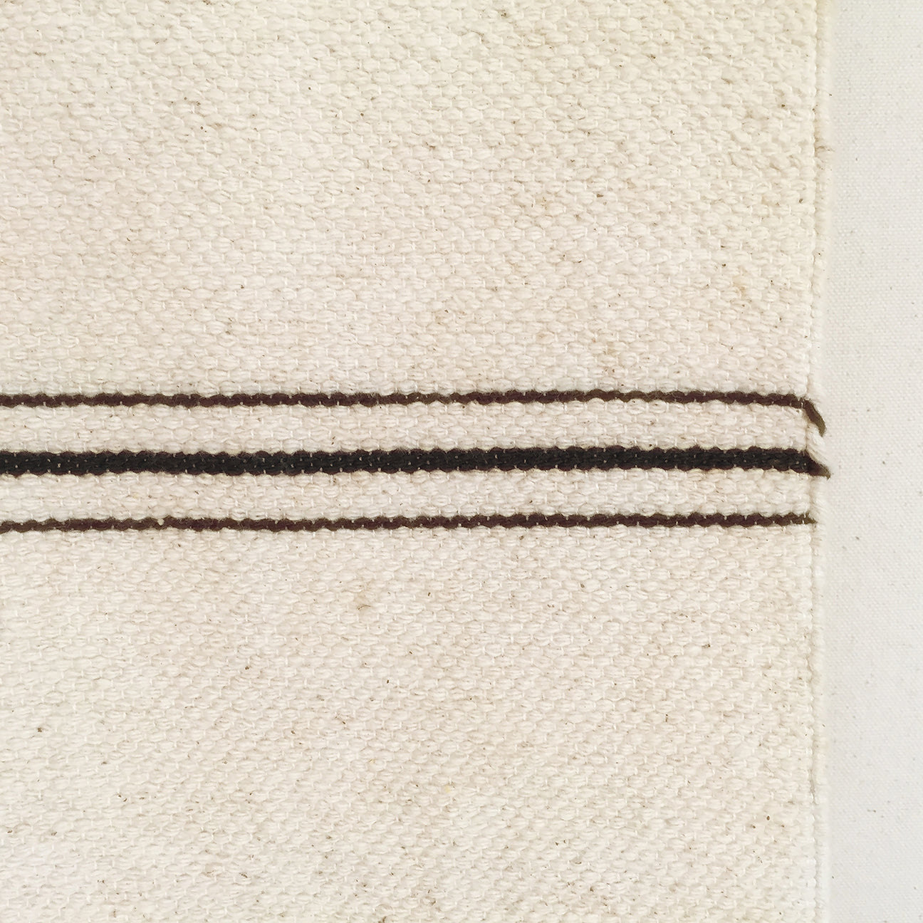 M+A NYC Offset Stripe Hand Loomed Throw