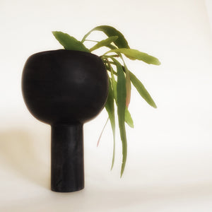 M+A NYC Orb Planter Medium - Soapstone